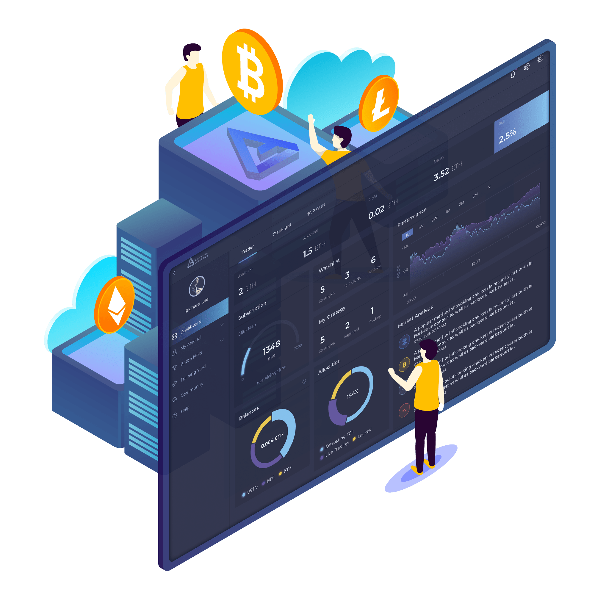 automated crypto trading system